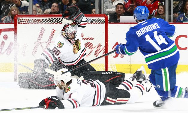 Flashback Friday: Canucks dethrone the Blackhawks