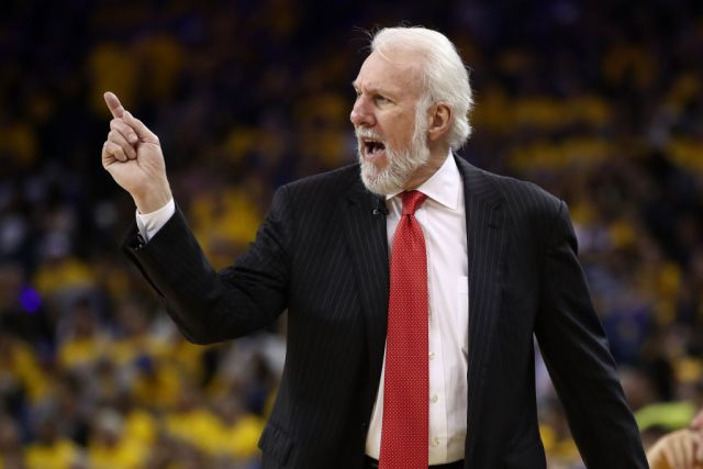 Gregg Popovich tees off on Donald Trump over recent comments
