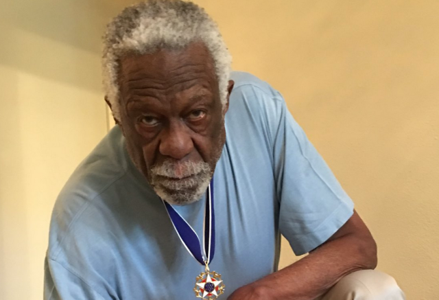 Bill Russell's first-ever tweet addresses social injustice