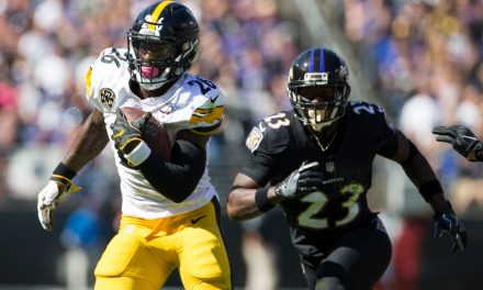 This Le'Veon Bell infographic shows how great he was vs Ravens