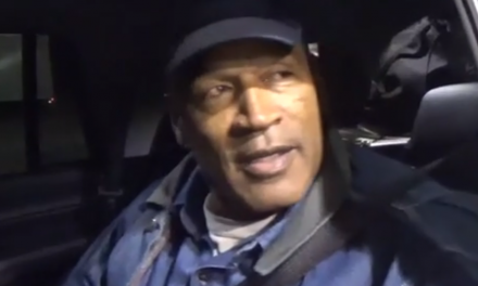 This video footage shows OJ Simpson as free man for first time in nine years