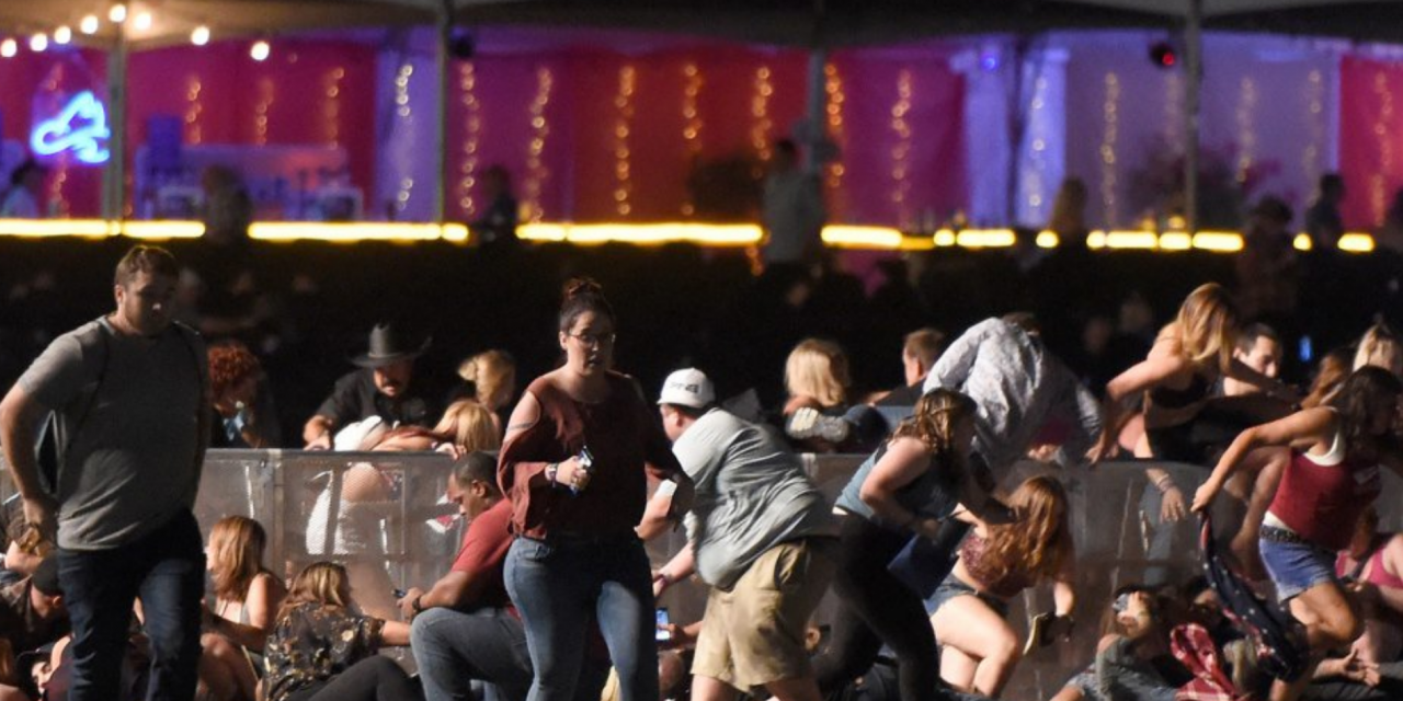 Watch scary video footage of Las Vegas shooting at Mandalay Bay concert