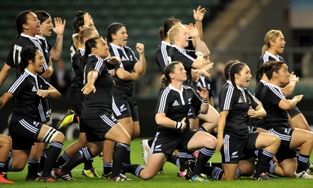 The Black Ferns are on top of the world