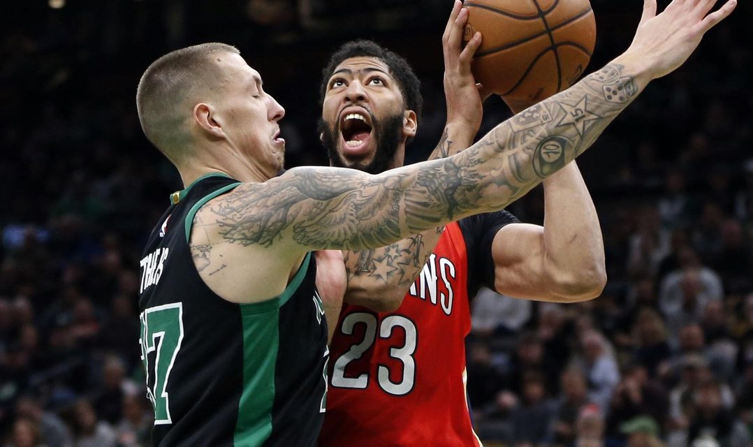 Your Morning Dump… Where we have conflicting information on Anthony Davis' opinion of Boston
