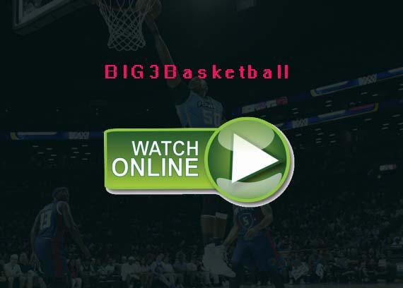 2019 BIG3 Basketball