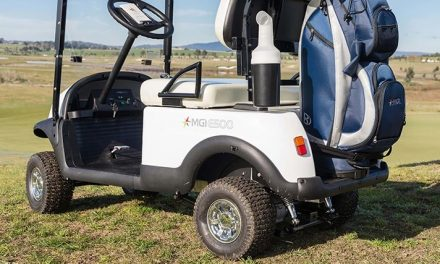 MGI E500 Electric Golf Caddy Overview
