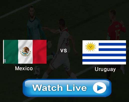 Mexico vs Uruguay Live stream