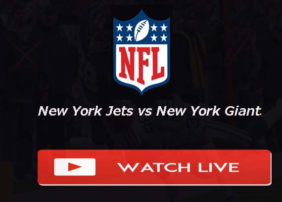 New York Jets vs New York Giants Live Stream
