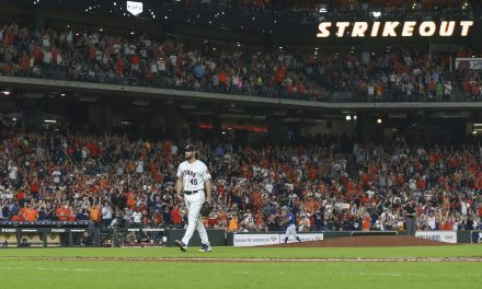 Astros Break 100 as Cole Owns the Mound