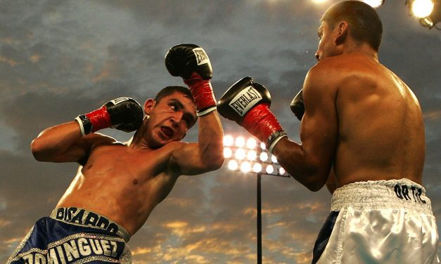 The Long Road to Becoming a Professional Fighter