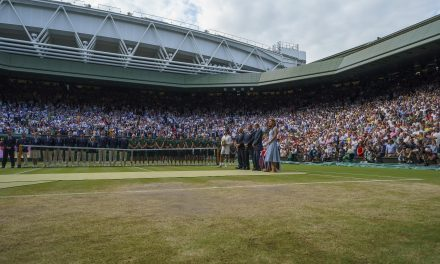 Andrew Castle, Wimbledon, and the Tennis Legends