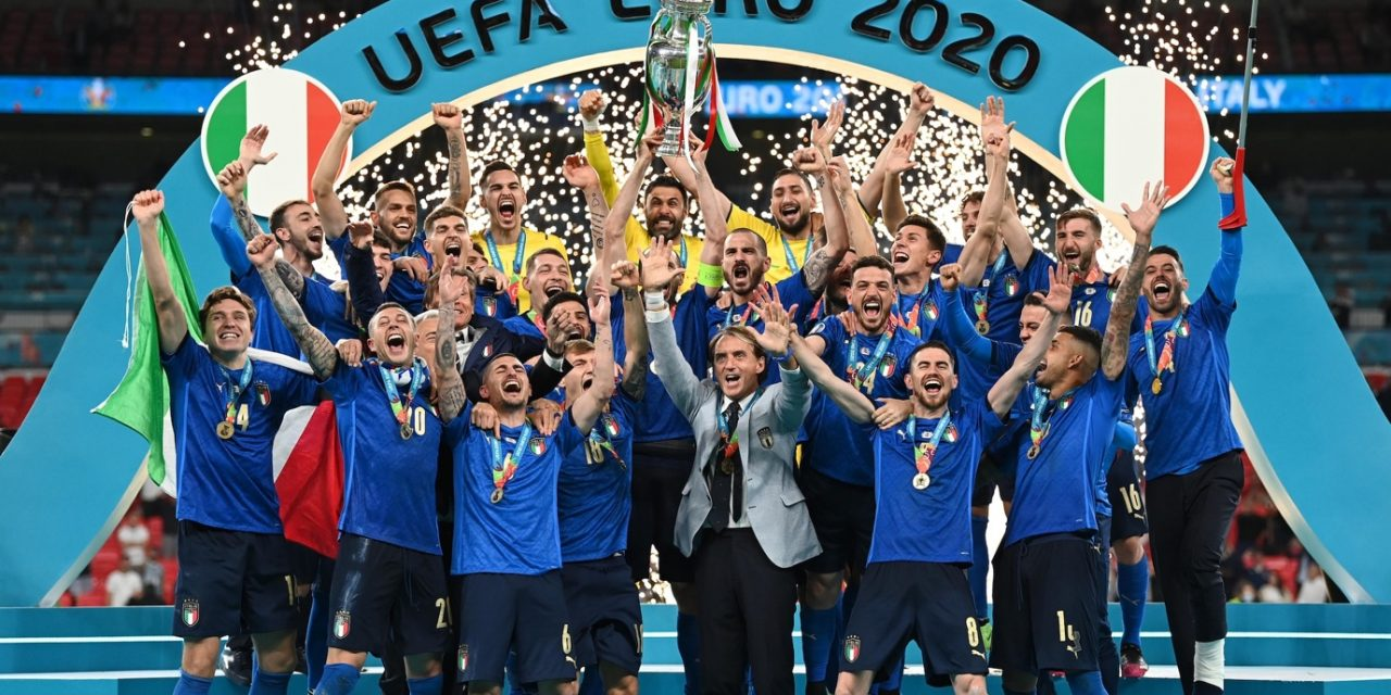 European Championships over with second title for Italy